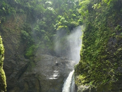 The powerful 300 feet high Pagsanjan Falls