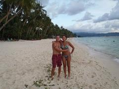 Enjoying paradise!
