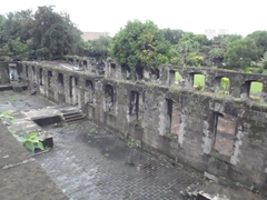 Ruins at Fort Santiago