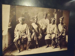 Black and white portrait of Filipino leaders; National Museum