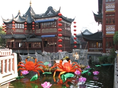 The Yu Gardens Bazaar is one of Shanghai's more scenic areas