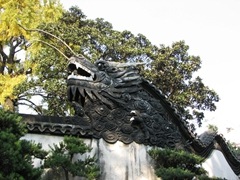 "The aptly named ""Dragon Gate""; Yuyuan Garden"
