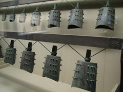 Bronze bells of varying sizes