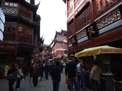 "The Yu Gardens Bazaar has been described as a ""Disneyland version of historical China"". Nevertheless, its a great place to spend an hour or two while in Shanghai"