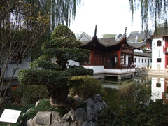Attractive view of the Confucius temple