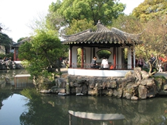 One of Suzhou's most popular sights, the Humble Administrator's Garden is a World Cultural Heritage site