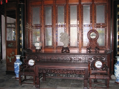 Interior of the Hall of 36 Pairs of Mandarin Ducks