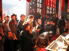 This is one of Shanghai's few active Buddhist temples and it is very popular with the locals