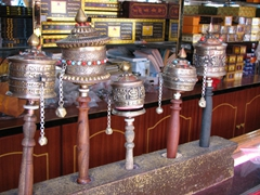 The prayer wheels are all reasonably priced
