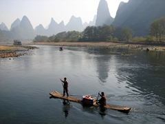 A timeless image of the Li River