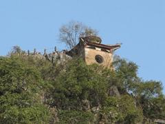 Watch tower; Yangshuo hilltop