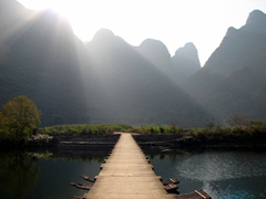 Picture perfect Yangshuo is a visual delight