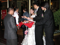 Our Guilin Brave Hotel was a popular venue for local weddings
