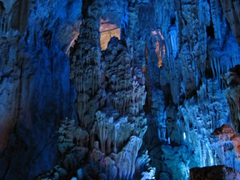 A visit to Reed Flute Park is a highlight of any visit to Guilin