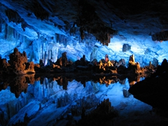 Interior of Reed Flute Cave