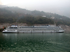 On day two of our cruise, we left the Princess Elaine for a trip down the Shennong Stream