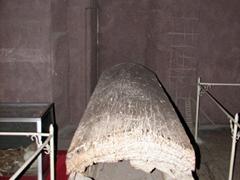 Hanging casket display, Wanxian Museum