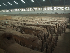 The enormous magnitude of the Terracotta Army has to be experienced first hand, to fully appreciate the size and complexity of this Qin Dynasty project