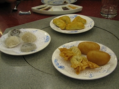 Delicious dumpling banquet at the Tang Dynasty Restaurant