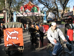 Xi'an's colorful and busy Muslim Quarter is a highlight and should not be missed!