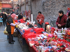 Red remains one of the most popular colors in China...and vibrant shades of it appear on almost every street corner