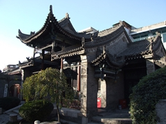 Another example of the Chinese style architecture at Xi'an's Great Mosque
