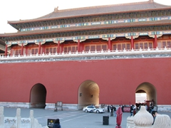 Massive entrance portals; Forbidden City