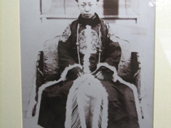 Photograph of the Last Emperor to live in the Forbidden City, Emperor Puyi