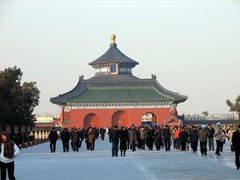 The Temple of Heaven draws huge crowds all year long