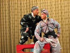 We really enjoyed this portion of the show, which intertwined opera, martial arts, and comedy