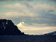 First view of South Orkney Islands