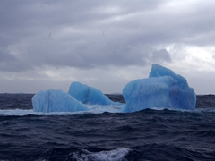 Another pristine blue iceberg in the Scotia Sea