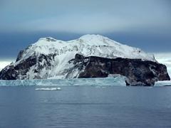 A large, inhospitable Antarctic Peninsula island near Paulet Island