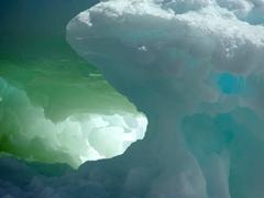"An ice ""cave"" on Paulet Island"
