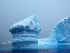 A whimsical turret shaped iceberg; Brown Bluff