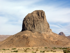 "We were told this outcropping is the ""symbol"" of Tamanrasset but found it to be almost indistinguishable from the hundreds of other similar stone formations throughout the region"