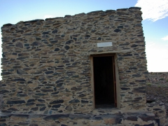 Entrance to the Charles de Foucauld Hermitage; Assekrem