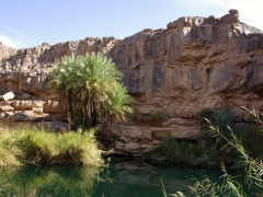 Large guelta south of In Salah