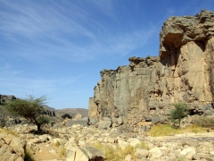 The rocks form so much natural beauty throughout the Sahara
