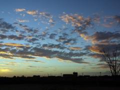 Sunset in Tamanrasset