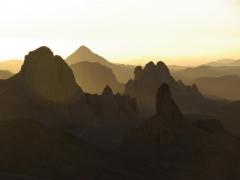 The landscape almost looks artificial; Assekrem