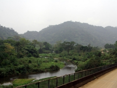 Scenery on our drive towards Kumba