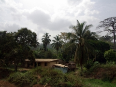 Konye village scene