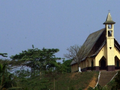 Hill top church; outskirts of Yaounde
