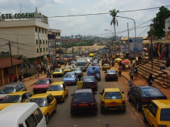 Chaotic traffic; Yaounde