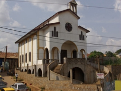 One of Yaounde's many churches