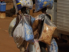 Pillow vendors; Yaounde