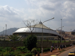 Yaounde city stadium