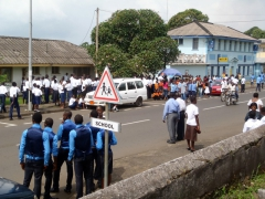 The crowded streets of Limbe as Youth Day festivities are about to kick off