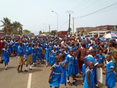 Its school kids galore; Limbe Youth Day celebrations